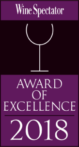 Wine Spectator Award of Excellence logo