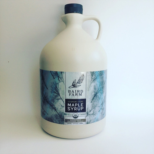 Gallon of Baird Farm Maple Syrup